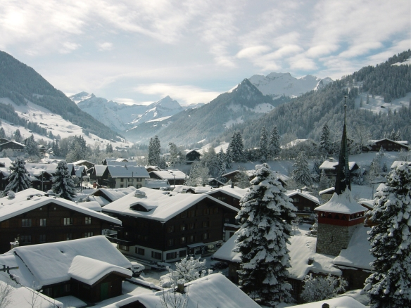 Gstaad in a heavy coating of beautiful white snow (photo found online)